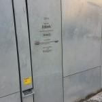 Galvanizes steel drainpipe