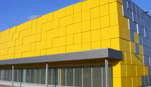 Supermarket selver facade