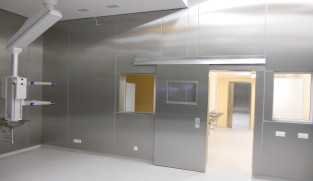 veterinary clinic operation room cladding