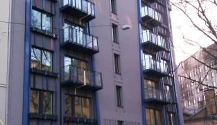 Facade cladding of Antonijas iela 16a