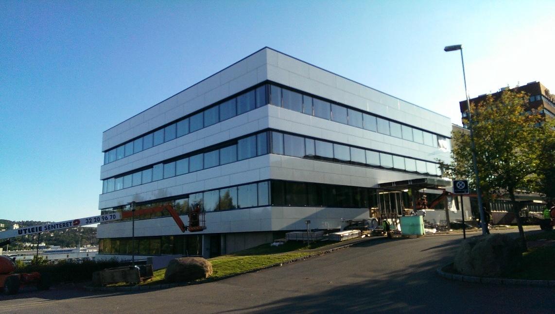 Oslo Business par facade cladding
