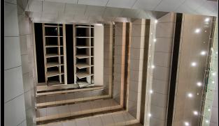Aluminum composite cladding of interior