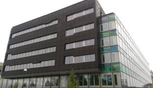 Aluminum perforated facade cladding