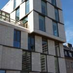 Stone facade cladding