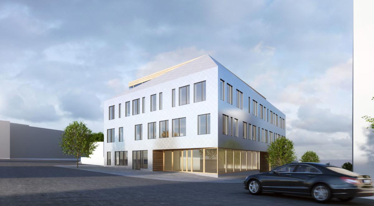 facade cladding of Ventilo AB