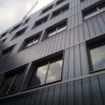 U glass cladding